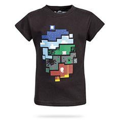 World of Minecraft Girls' Tee