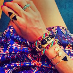 Jewelry by Maria Dolores  #ootd #fashion #accessories #bijoux #jewelry#ethnic#frida
