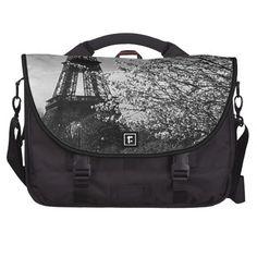 Laptop bag -- ahhhh, Paris. :-)