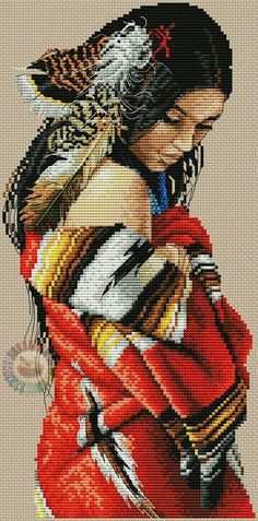 This pattern is on another per Cross Stitch Art, Cross Stitch Designs, Cross Stitching, Cross Stitch Patterns, Embroidery Art, Cross Stitch Embroidery, Embroidery Patterns, Cross Stitch Pictures, Plastic Canvas Patterns