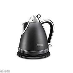 DeLonghi KBM1511 Automatic Cordless Electric Kettle - Gray & Silver