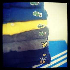Lacoste x Lyle & Scott x Adidas x Fred Perry polo's