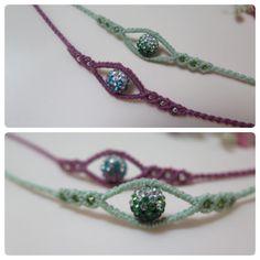 """48 """"Μου αρέσει!"""", 3 σχόλια - ami (@star_ami) στο Instagram: """"#bracelet #macramebracelet #macrame #jewelry #evileye #handmade #knotcraft #매듭공예 #이블아이 #매듭팔찌 반짝이는…"""""""