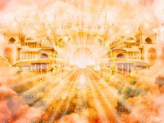 REVELATION — Creitz Illustration Studio Heaven Art, Jpg File, Holi, Studio, City, Random, Illustration, Painting, Bible