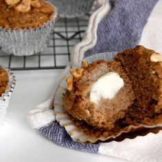 Amazing Banana Nut Muffins- these are SO good!