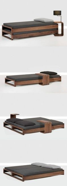 Кровать - трансформер (с тумбами)