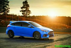 Focus Rs, Ford Focus, Ford Motorsport, Dream Machine, Ford Motor Company, Car Wallpapers, Dream Cars, Wicked, Blue