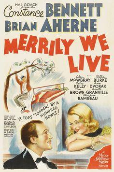 Merrily We Live (1938) Constance Bennett, Brian Aherne, Ann Dvorak, Bonita Granville, Billie Burke, Tom Brown, Alan Mowbray, Clarence Kolb, Patsy Kelly