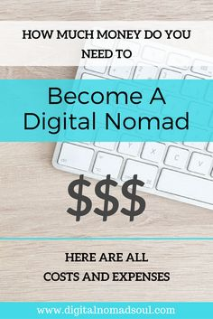 When you want to become a digital nomad - travel the world and make money online - you should save up some money before you start your new nomadic lifestyle. Find out how much money you need exactly and what you will have to spend it for. Detailed budget plan for every long-term traveler and remote worker.