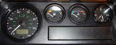 Land Rover Defender 90 110 200TDi 300TDi Dash Instrument Gauge Rubber Seal Set