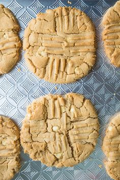 Giant Double Peanut Butter & White Chocolate Chunk Cookies recipe!