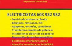 #Cerrajeros #Fontaneros #Electricistas  603 932 932  #ESPAÑA es cosa nuestra.
