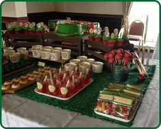 Cricket Party Theme Birthday Party Ideas | Photo 3 of 5 | Catch My Party