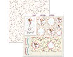 Papel para Scrapbooking Dayka 30x30 cm. Nuevos para comunión de niña y niño. Diseñado y producido en España.
