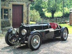 1934 Aston Martin Ulster LeMans 1.5L Race Car Black fvl