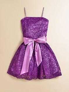 Un Deux Trois - Girl's Sparkle Party Dress - Saks.com