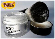 Pó HD Make Up For Ever Microfinish Powder MUFE – Super Resenha Make Up for Ever