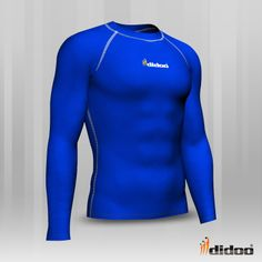 Ideal as a base layer or for training, Didoo Shirts are a tight fit compression garment.