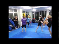 Ladies Kickboxing 2013