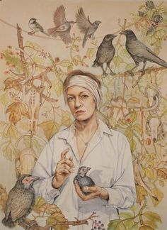 Professional Realist Artist , specialist in animals , figurative and narratives Paintings Famous, Small Drawings, Bird Artwork, Bird Feeders, Saatchi Art, Birds, Watercolor, Animals, Carl Larsson