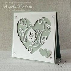 cricut wedding cards - Google Search