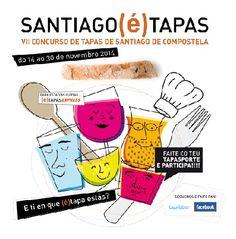 #Santiago e #tapas, #Galicia