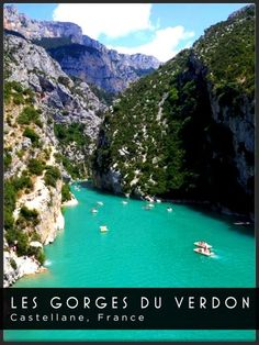 Les Gorges du Verdon - Castellane, France