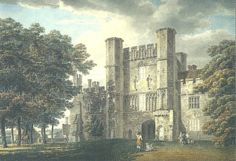 Michael Angelo Rooker, A., The Gatehouse of Battle Abbey, Sussex, Pencil and watercolour on wove paper Renaissance, Art Quiz, Thomas Gainsborough, Bayeux Tapestry, Gate House, Royal Academy Of Arts, First Art, Love Art, Art Blog