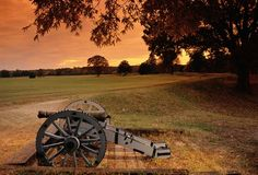 Canon at Yorktown Battlefield. In 1781, French troops joined American forces at Yorktown, VA and attacked British fortifications by land and sea. The campaign was successful and British General Charles Cornwallis surrendered (Photo: Richard T. Nowitz/Corbis)