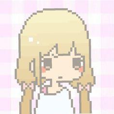 Image result for kawaii pixel chibi girl