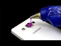 19 Increíbles Trucos Con Pistola de Silicona Caliente - YouTube
