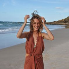 Wandering around beaches in Byron Bay - Sarong Style