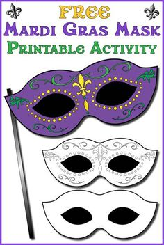 Let The Good Times Roll With This Festive Mardi Gras Mask Mardi Gras