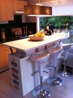 20 IKEA Kitchen Island Hacks You'll Love | ComfyDwelling.com #ikea #kitchen #island #hacks