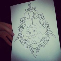 My Disney tattoo! Inked!