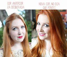 """Quer pintar o cabelo de ruivo? Acha bonito? Acha que vai combinar com você? Quer pintar pois acha que tá na moda? Então vamos conversar. A maioria das marcas de tinta identificam as colorações acobreadas com o """".4"""", exemplo: 6.4, 7.4, 8.4, 9.4. Exceto a Igora que é """".7"""". Qual é a sua cor natural? …"""