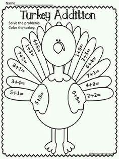 Bunch Ideas of Kindergarten Thanksgiving Worksheets On Download ...