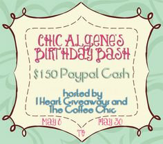 Contest Alert: $150 Paypal Birthday Cash Giveaway (Worldwide)