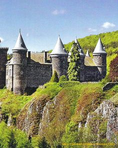Chateau du Sailhant commune d'Andelat, Cantal, France. http://www.castlesandmanorhouses.com/photos.htm