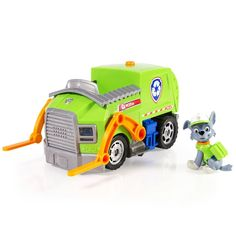 Paw Patrol Rocky Lights and Sounds Vehicle image-0