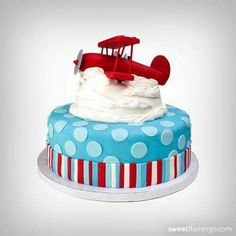 BABY SHOWER~ AIRPLANE CAKE