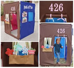 PVC Pipe and Felt Playhouse and 14 other pvc projects like a target and a backdrop. Pvc Playhouse, Card Table Playhouse, Playhouse Ideas, Pvc Fort, Diy For Kids, Crafts For Kids, Diy Crafts, Felt House, Pvc Projects