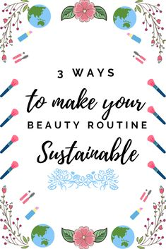 The beauty industry is responsible for billions of tonnes of waste but you can help change that. Find out how to make your beauty routine more sustainable. Skin Care Regimen, Skin Care Tips, What Can Be Recycled, Make Beauty, Daily Beauty, Clean Beauty, Beauty Makeup, Lots Of Makeup, Happy Skin