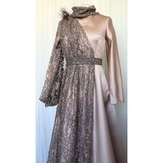 Hijab Evening Dress, Hijab Dress Party, Hijab Style Dress, Evening Dresses, Women's Dresses, Pretty Dresses, Beautiful Dresses, Fashion Dresses, Dress Brokat Muslim