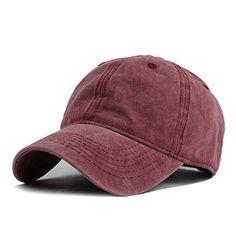 HH HOFNEN Unisex Twill Cotton Baseball Cap Vintage Adjust... https    5d79187a2c2d