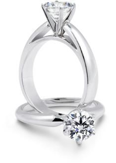 Illusion Engagement Ring Solitaire Settings 20