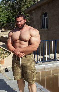 Amateur guy nude posing