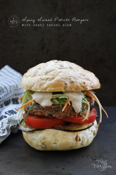 Looking for a veggie burger with a difference? If you like things a little spicy, this recipe could be just the ticket! I haveeaten many a veggie burger, but not a single one with this flavour pro...
