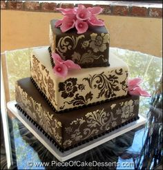 ultra modern wedding cakes | Piece Of Cake Desserts: Listed in Wedding Cakes in Mesa, Arizona