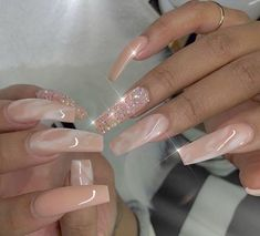50 nail designs that i love pretty nails unghii, manichiură Glam Nails, Dope Nails, 3d Nails, Bling Nails, Coffin Nails, Cute Acrylic Nails, Acrylic Nail Designs, Nail Art Designs, Long Nail Designs